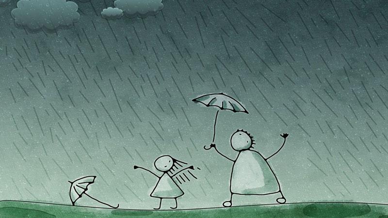 باران منتظر نخواهد ماند تا کارت را انجام بدهی