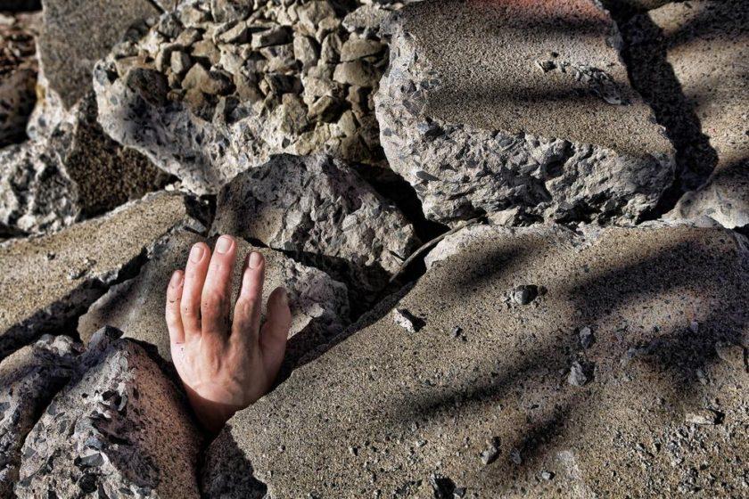 شاید زلزله به زندگیاش افتاده باشد