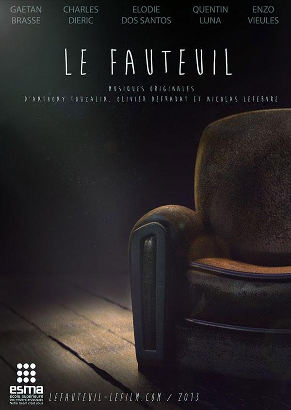 پوستر صندلی راحتی (The Armchair)؛ یک انیمیشن کوتاه درباره یک صندلی