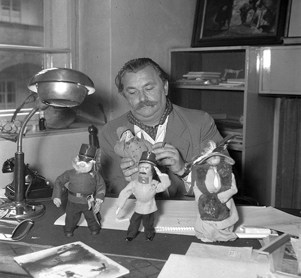 یرژی ترونکا(Jiří Trnka؛ ۲۴ فوریه ۱۹۱۲ – ۳۰ دسامبر ۱۹۶۹)