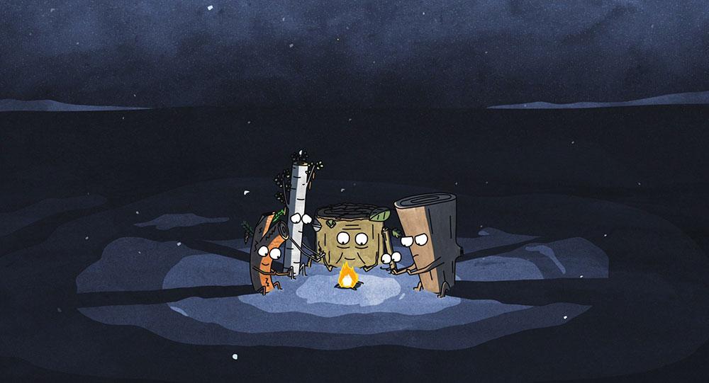 چوب (Timber)؛ انیمیشنی کوتاه در مورد ایثار، طمع و بقا