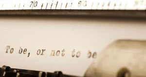 بودن یا نبودن، حرف در همین است